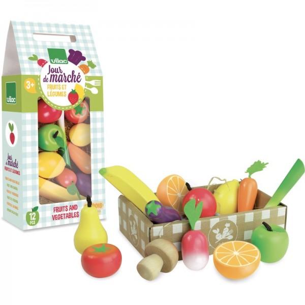 """Kaufladenzubehör """"Obst & Gemüse"""""""