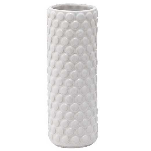 """Vase """"Noppen"""" weiß ø 6 cm"""