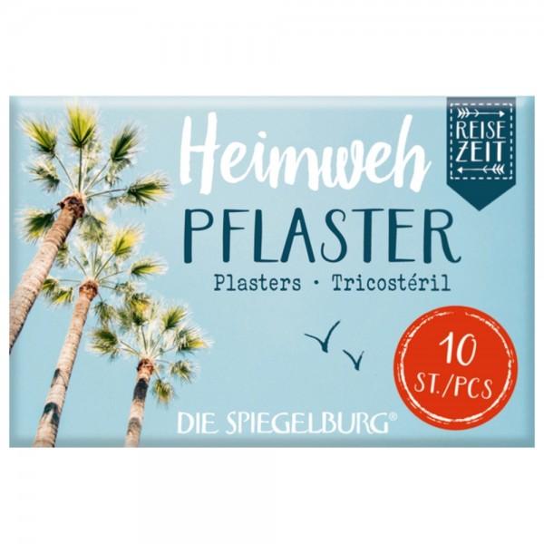 """Pflasterstrips """"Heimweh - Reisezeit"""" 10 Stück"""