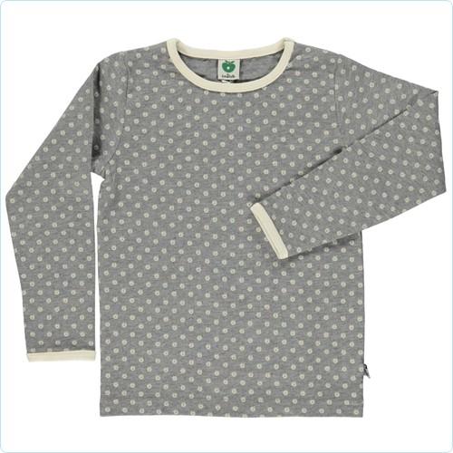 """Shirt """"Mirco Äpfel"""" grau"""