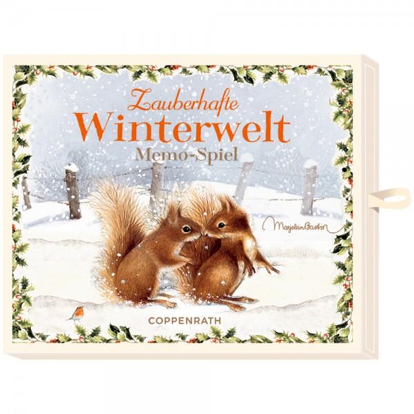 "Memo ""Zauberhafte Winterwelt"" M. Bastin"