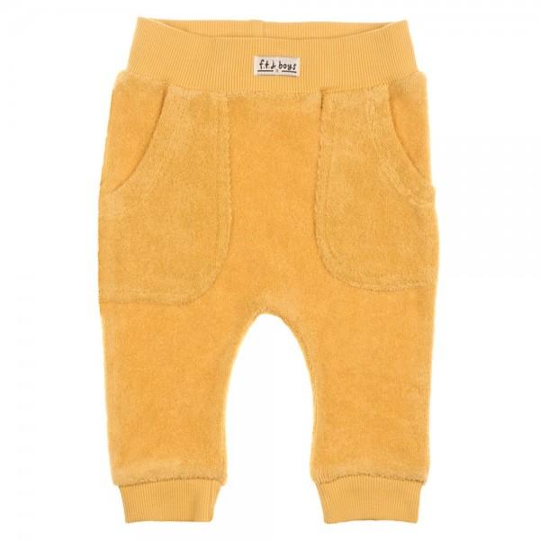 Bio Baby Hose Frottee gelb