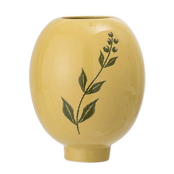 22063241 Bloomingville Vase Blume gelb