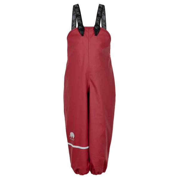 Regenhose Fleece-Futter rio red
