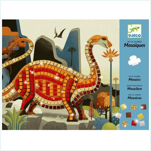 "Mosaik-Bastelset ""Dinosaurier"""