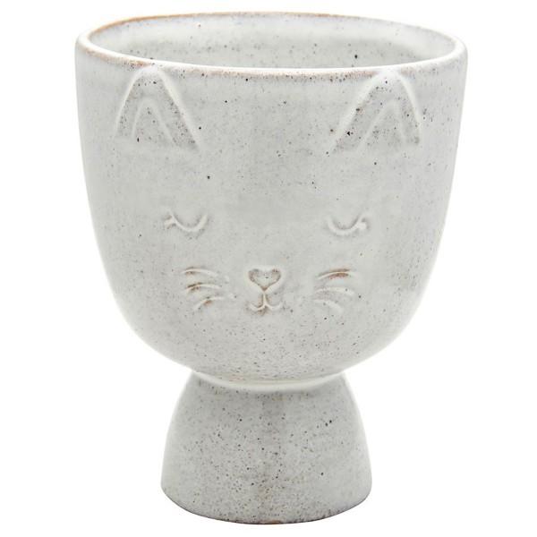 "Keramik-Übertopf ""Katze"""