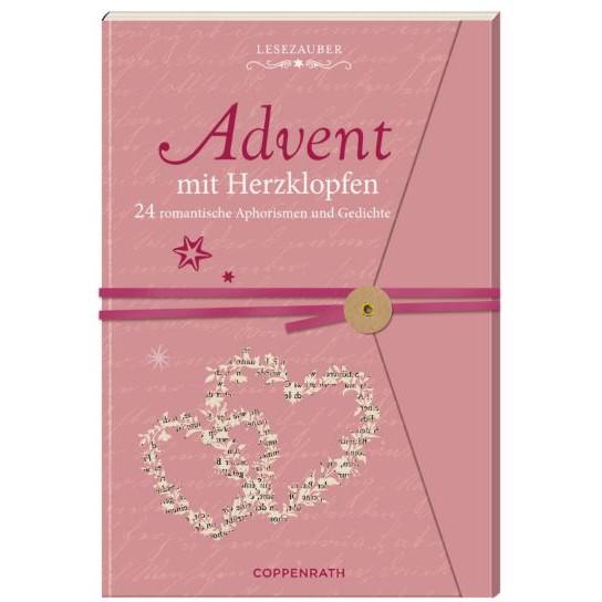 """Adventskalenderbuch """"Lesezauber - Advent mit Herzklopfen"""""""
