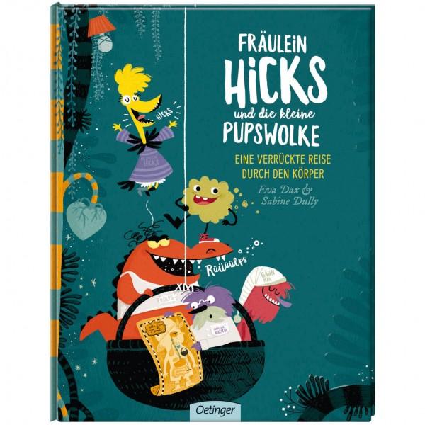 """Buch """"Fräulein Hicks und die kleine Pupswolke"""""""