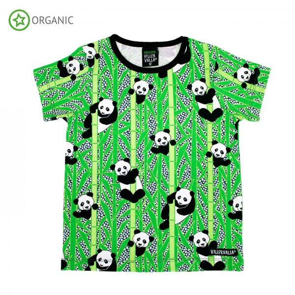"""Kurzarm-Shirt """"Panda"""""""