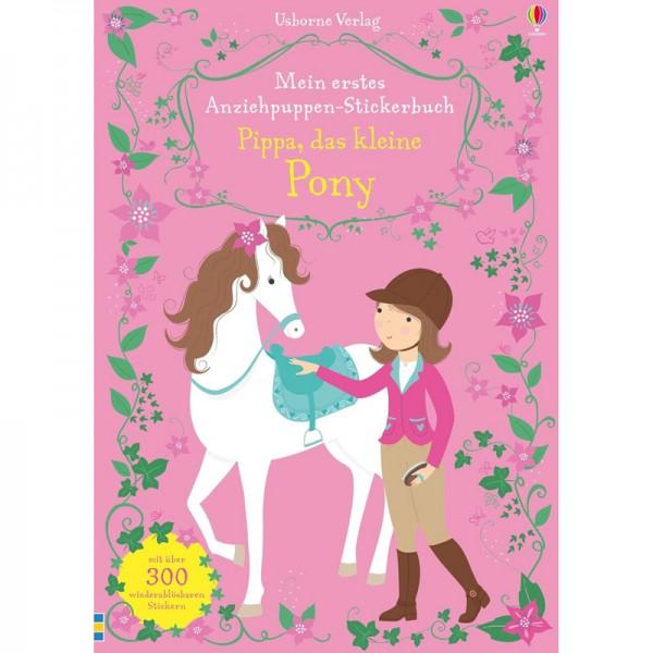 """Anziehpuppen-Stickerbuch """"Pippa, das kleine Pony"""""""