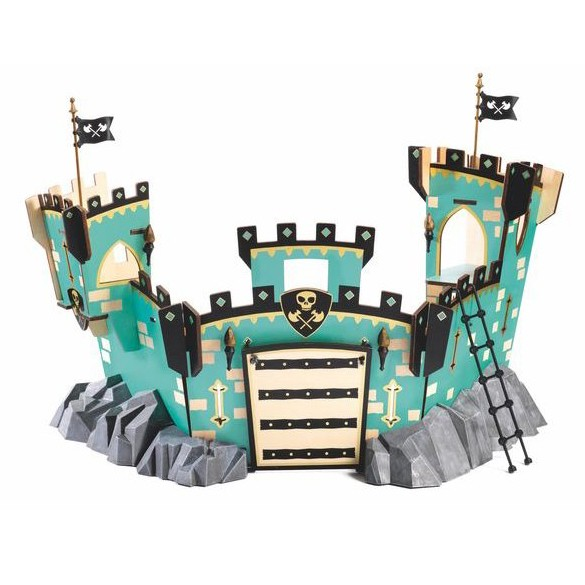 """Arty Toy Ritterburg """"Castle on Ze Rock"""""""