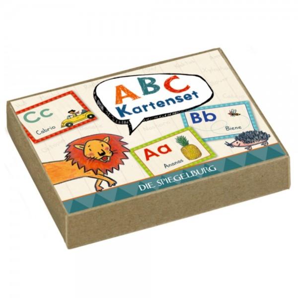 """ABC-Kartenset """"Bunte Geschenke"""""""