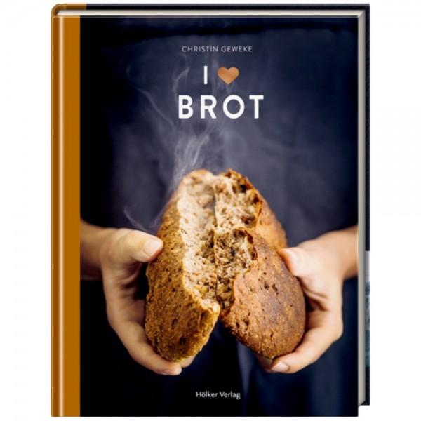 "Buch ""I love Brot"""