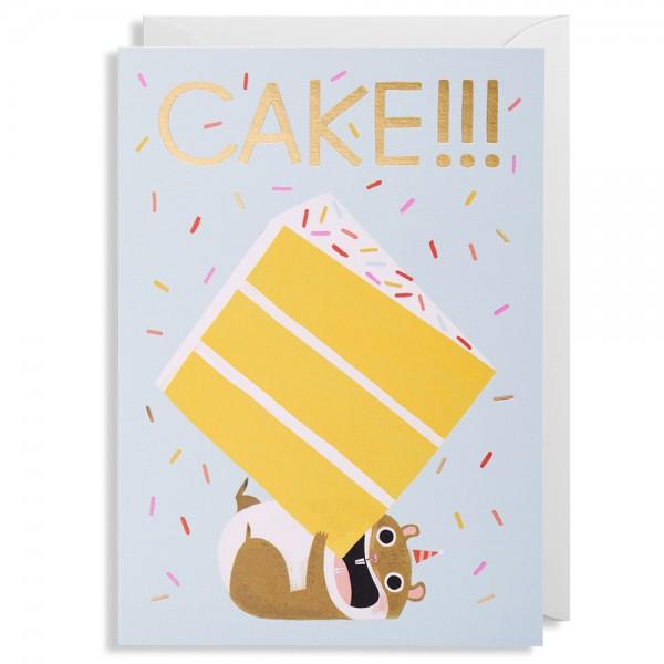 """Klappkarte Allison Black """"Cake!"""""""