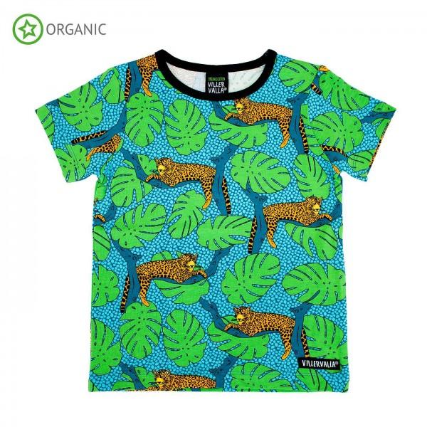 """Kurzarm-Shirt """"Leopard"""""""