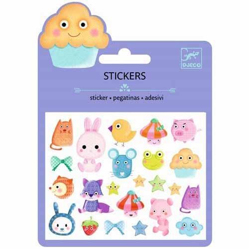 "Sticker Minipack ""Kawai"" Puffy"
