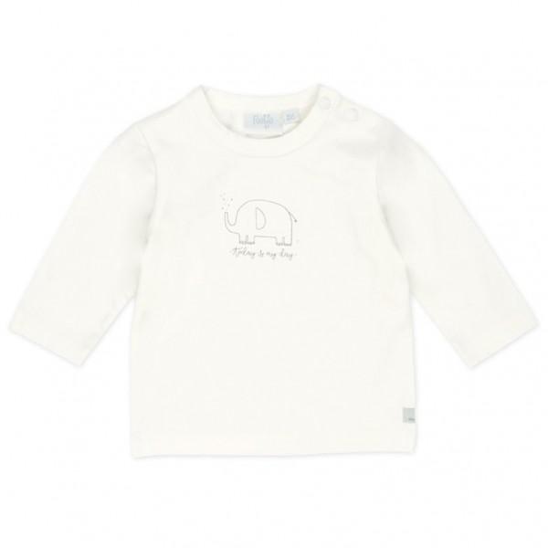 "Baby-Shirt ""Tiny Me - Elefant"" weiß"