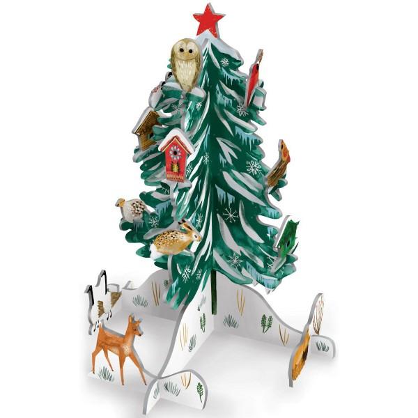 """3D Adventskalender Pop&Slot """"Christmas Conifer"""""""