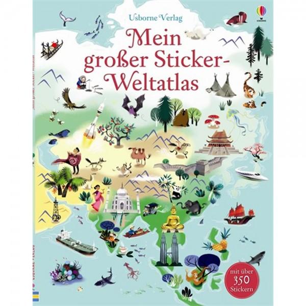 """Stickerbuch """"Mein großer Sticker-Weltatlas"""""""