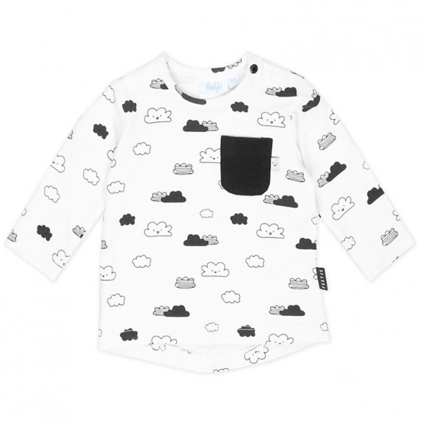 "Baby-Shirt ""The Coolest"" Wolken"