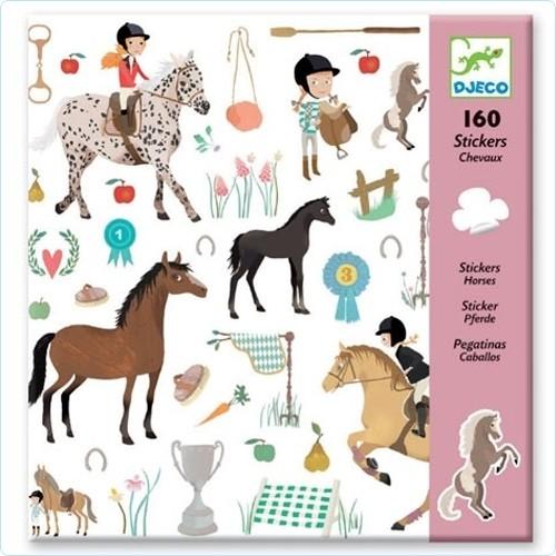 """160 Sticker/Aufkleber """"Pferde"""""""