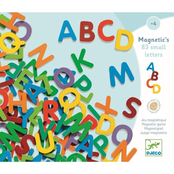 """Holz-Magnete """"83 Großbuchstaben"""""""