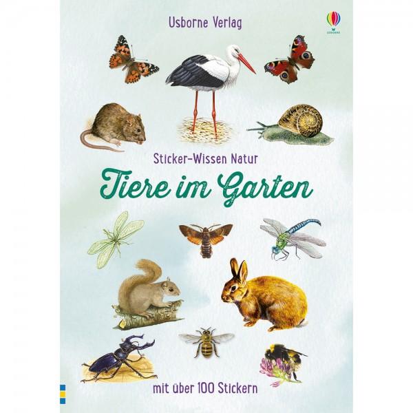 """Sticker-Wissen Natur """"Tiere im Garten"""""""