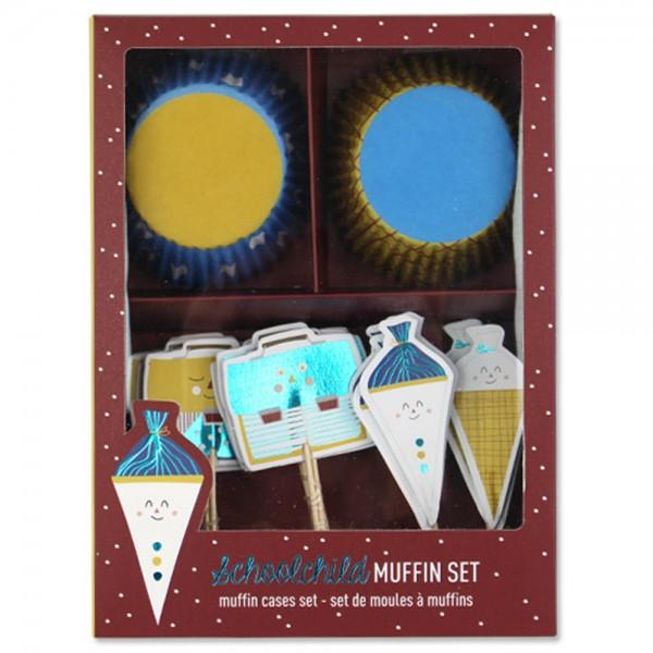 """Cupcake-Set """"Einschulung"""""""
