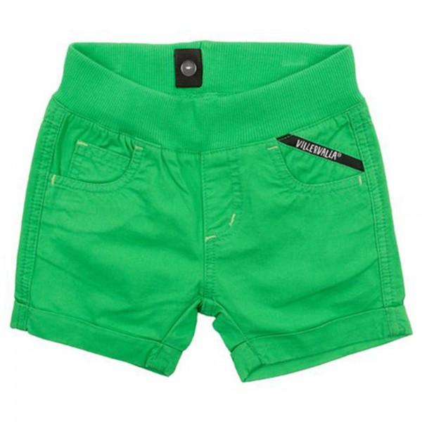 Canvas-Shorts peacock green