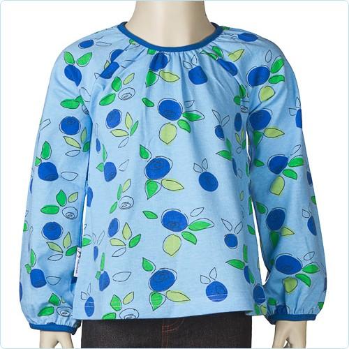 "Shirt ""Blueberry"" blau"
