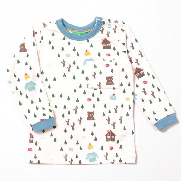 """Bio Shirt """"Abenteuer Wald"""" natur"""
