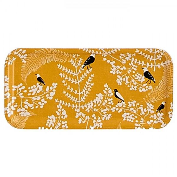 """Holz-Tablett """"Oiseaux"""" 28x14 cm"""