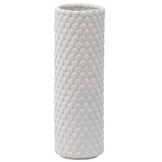 """Vase """"Noppen"""" weiß ø 8 cm"""