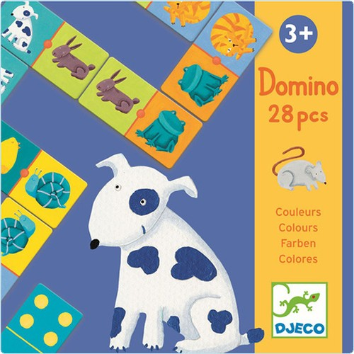 """Domino """"Tiere & Farben"""""""