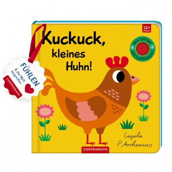 """Mein Filz-Fühlbuch """"Kuckuck, kleines Huhn!"""""""