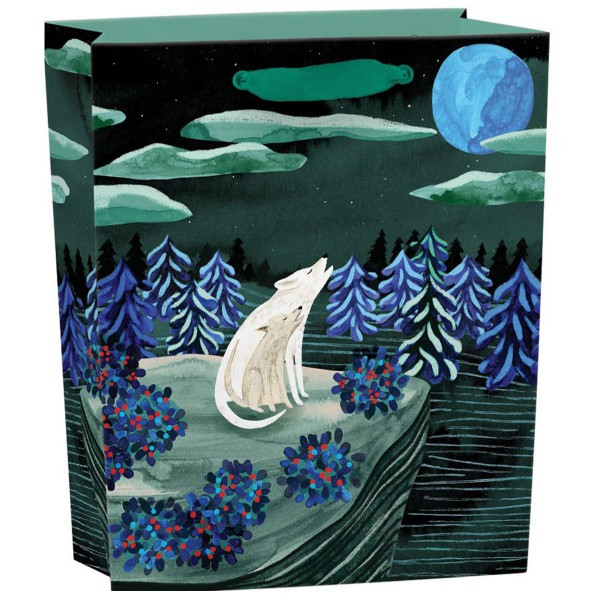 "Geschenktüte ""By the Light of the Moon"" hoch H 31 cm"