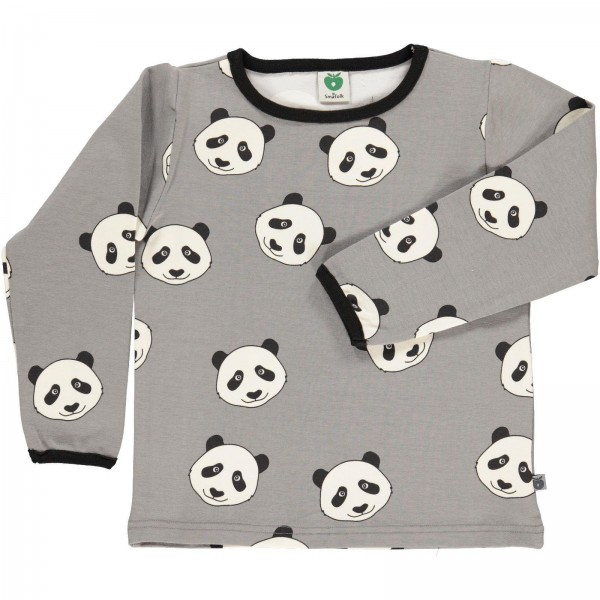 "Shirt ""Panda Face"" wilde dove"