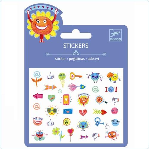 "Sticker Minipack ""Symbole"" Puffy"