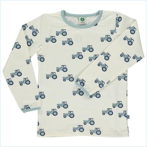 """Shirt """"Traktoren"""" cream"""