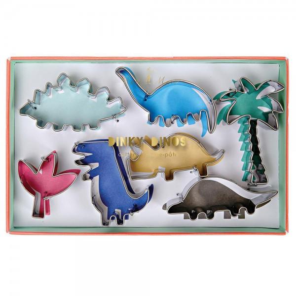 """Ausstechformen-Set - 7 Stück """"Dinosaurier"""""""