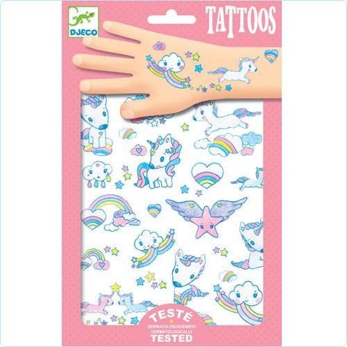 """Tattoos """"Einhörner"""""""