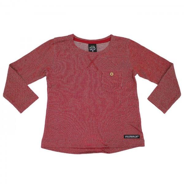 """Shirt """"Nordic Knit"""" ROT melange"""