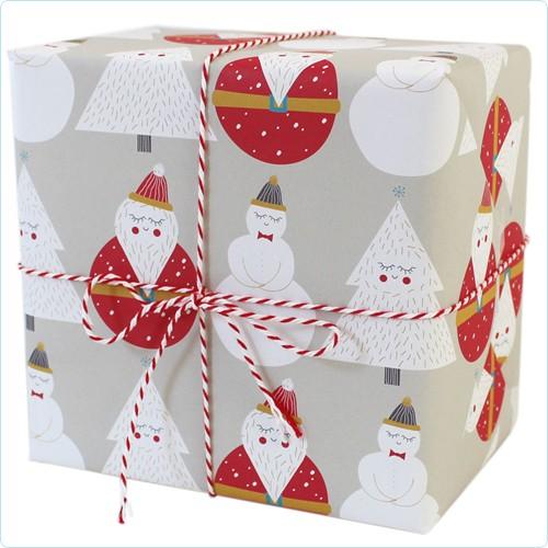 """Geschenkpapier """"Weihnachtsmann"""""""