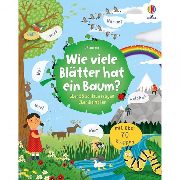 """Buch """"Schlaue Fragen - Wie viele Blätter hat ein Baum?"""""""