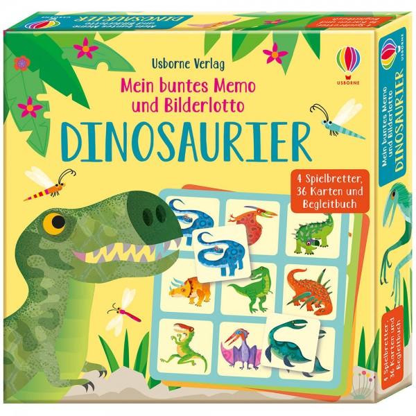 """Memo und Bilderlotto """"Dinosaurier"""""""