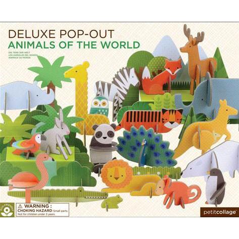 """Deluxe Pop-Out-Figuren """"Tiere"""""""