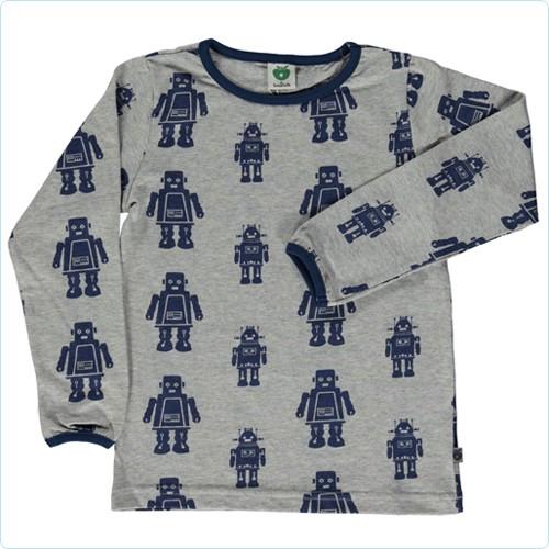 "Shirt ""Roboter"" graumix"