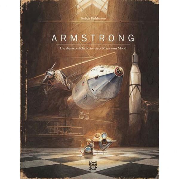 """Buch """"Armstrong - Die abenteuerliche Reise einer Maus zum Mond"""""""