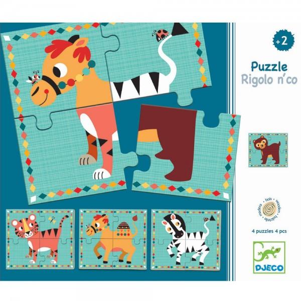 "Holz-Puzzle ""Rigolo n'co"""