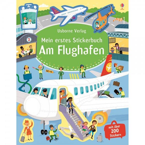 """Mein erstes Stickerbuch """"Am Flughafen"""""""